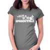 Undertale v2 Womens Fitted T-Shirt