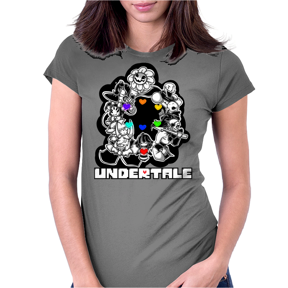 Undertale v7 Womens Fitted T-Shirt