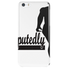 Undisputedly Fit Runner In black Phone Case