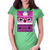 Uni Kitty Womens Fitted T-Shirt