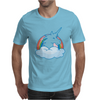 UNICORN and RAINBOW Mens T-Shirt