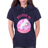 Unicorn Believe In Yourself Womens Polo