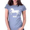 Unicorn Believe Womens Fitted T-Shirt