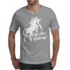 Unicorn Don't Stop Believing Mens T-Shirt