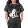 Unicorn Don't Stop Believing Womens Polo