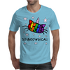 Unicorn Kitty Cat - So Meowgical Mens T-Shirt