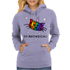 Unicorn Kitty Cat - So Meowgical Womens Hoodie