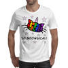 Unicorn Kitty Cat - UniKitty - So Meowgical Mens T-Shirt