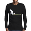 UNICORN SCOOTING ON THE FLOOR Mens Long Sleeve T-Shirt