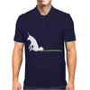 UNICORN SCOOTING ON THE FLOOR Mens Polo