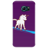 Unicorn surfing Phone Case