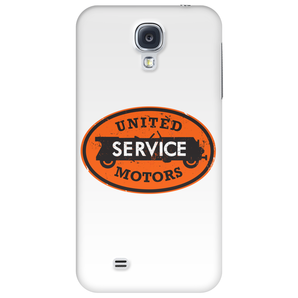 United Motors Service vintage sign distressed Phone Case
