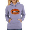 United Motors Service vintage sign distressed Womens Hoodie
