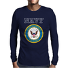 United States of America US Navy SL Blue Mens Long Sleeve T-Shirt