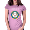 United States of America US Navy SL Blue Womens Fitted T-Shirt