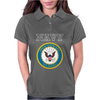 United States of America US Navy SL Blue Womens Polo