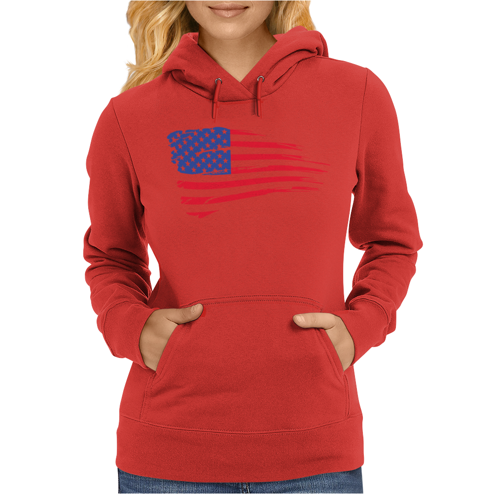 United States Of America Womens Hoodie