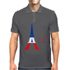 United We Stand - Paris (For light colored backgrounds) Mens Polo