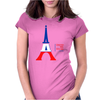 United We Stand - Paris (For light colored backgrounds) Womens Fitted T-Shirt