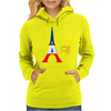 United We Stand - Paris (For light colored backgrounds) Womens Hoodie