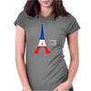 United We Stand - Paris Womens Fitted T-Shirt