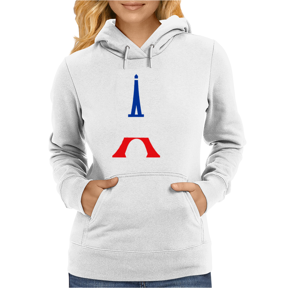 United We Stand - Paris Womens Hoodie