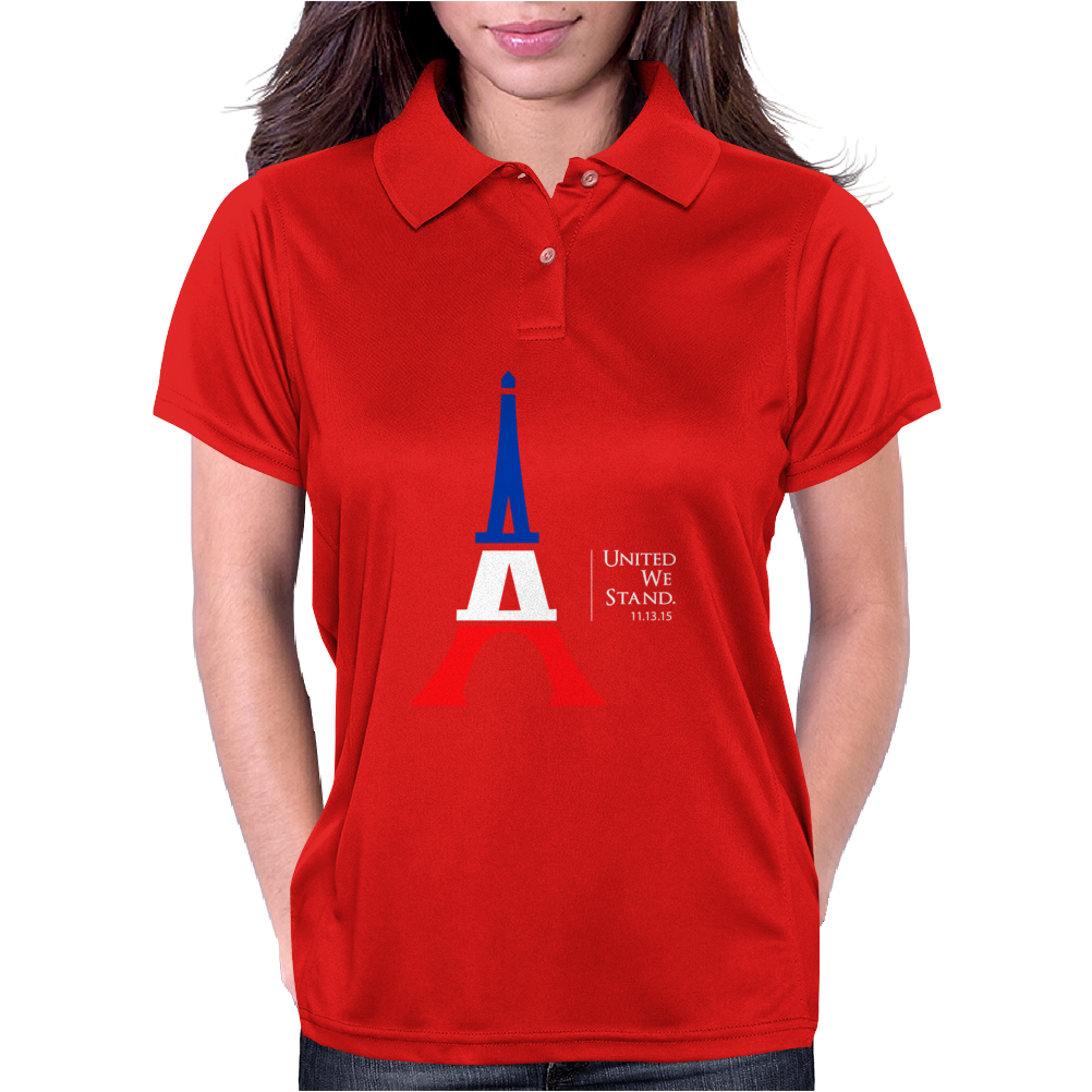 United We Stand - Paris Womens Polo
