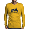 Unrestricted Motorcycle Mens Long Sleeve T-Shirt