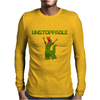 Unstopable T-Rex Mens Long Sleeve T-Shirt