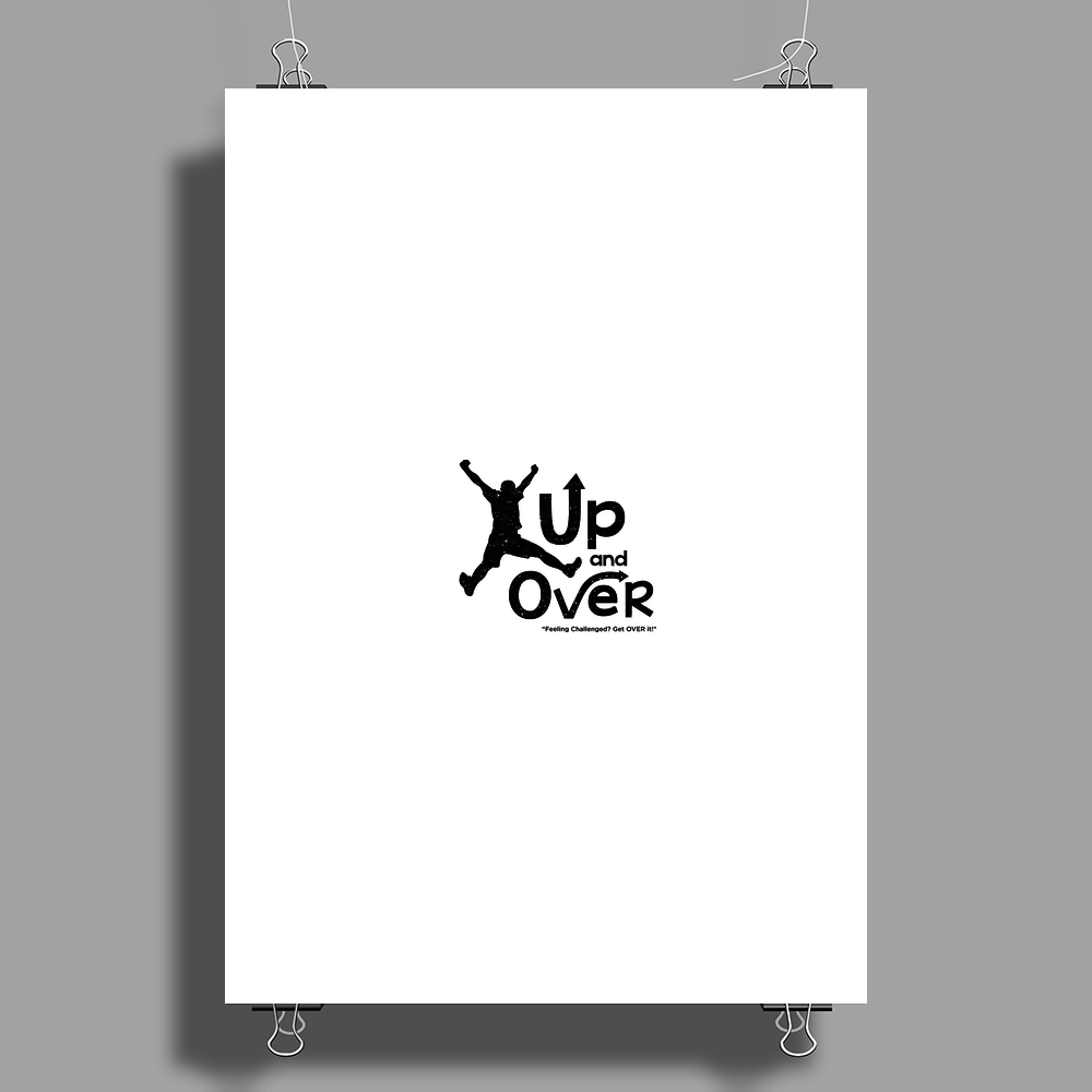Up and Over Poster Print (Portrait)
