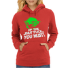 Up The Shut Fuck You Must! Womens Hoodie