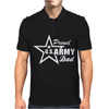 US Army Proud Dad Mens Polo