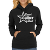US Army Proud Dad Womens Hoodie