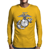 US Marine Corps Mens Long Sleeve T-Shirt