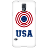 USA 4th July American Flag Circle Phone Case