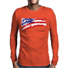 Usa Flag Pride American Mens Long Sleeve T-Shirt