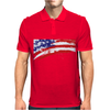 Usa Flag Pride American Mens Polo