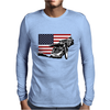 USA Speedway Racing Mens Long Sleeve T-Shirt