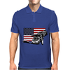 USA Speedway Racing Mens Polo