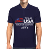 USA World Cup Champions Mens Polo