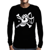 Usopp Flag One Piece Mens Long Sleeve T-Shirt