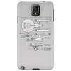 U.S.S Enterprise Blueprints. Star Trek Phone Case