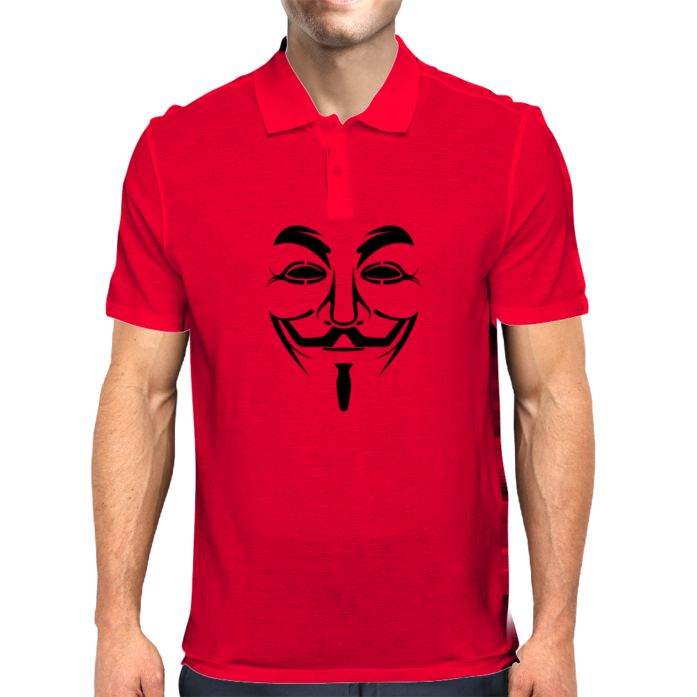 V for Vendetta Mens Polo