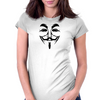 V for Vendetta Womens Fitted T-Shirt