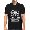 V T-shirt inspired by Deadliest Catch - On the Crab. Mens Polo
