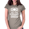 V T-shirt inspired by Deadliest Catch - On the Crab. Womens Fitted T-Shirt