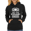 V T-shirt inspired by Deadliest Catch - On the Crab. Womens Hoodie
