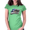 V Twin Womens Fitted T-Shirt