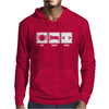V1 Eat Sleep Code Mens Hoodie