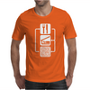 V2 Eat Sleep Binary Code Mens T-Shirt